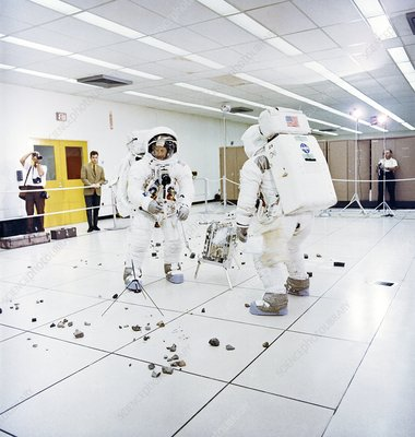 Apollo 12 mission training, 1969