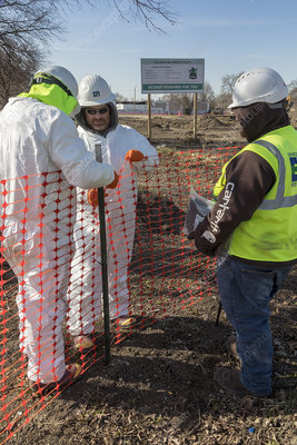 Lead contamination removal, Detroit, USA