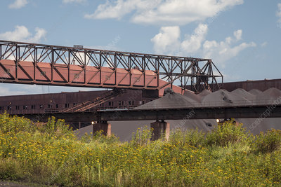 Taconite processing plant, USA