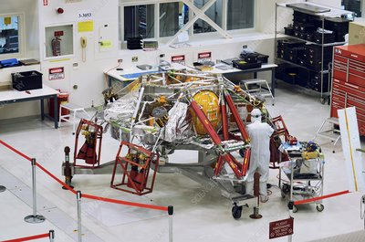 Mars 2020 descent stage preparations, 2018