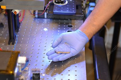 Martian meteorite tests for Mars 2020 mission