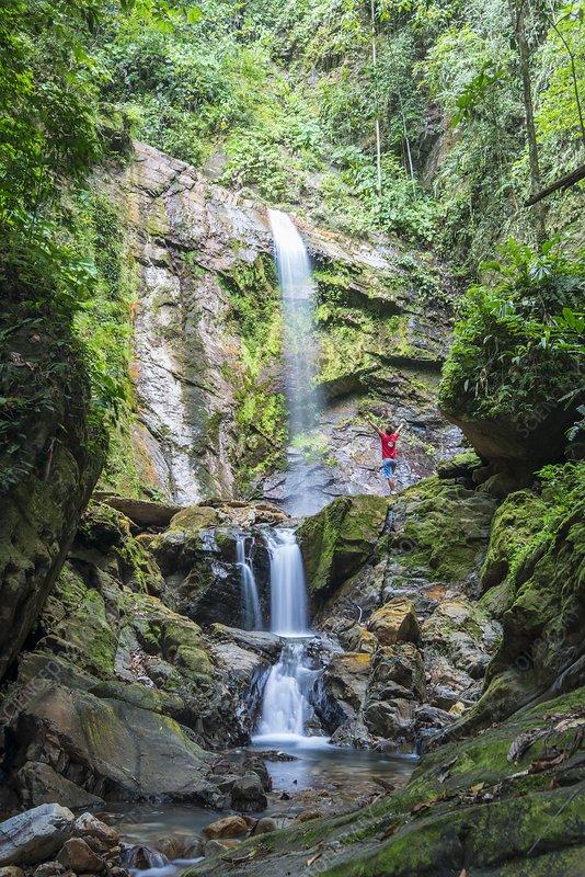 Kuli Falls, Borneo
