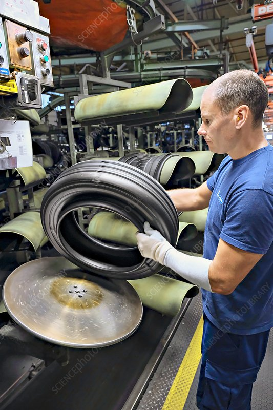 Tyre production