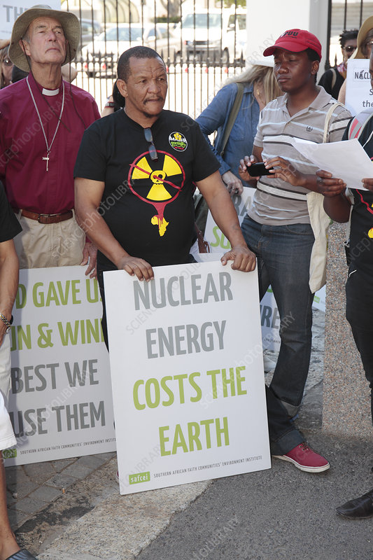 Anti-nuclear power protest, South Africa