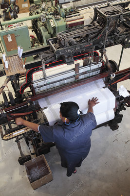 Textile mill, South Africa