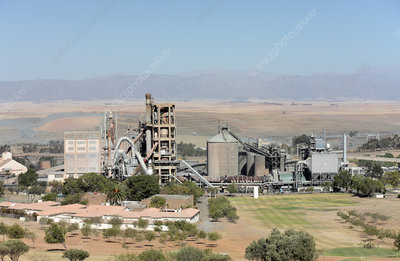 Limestone mine, South Africa