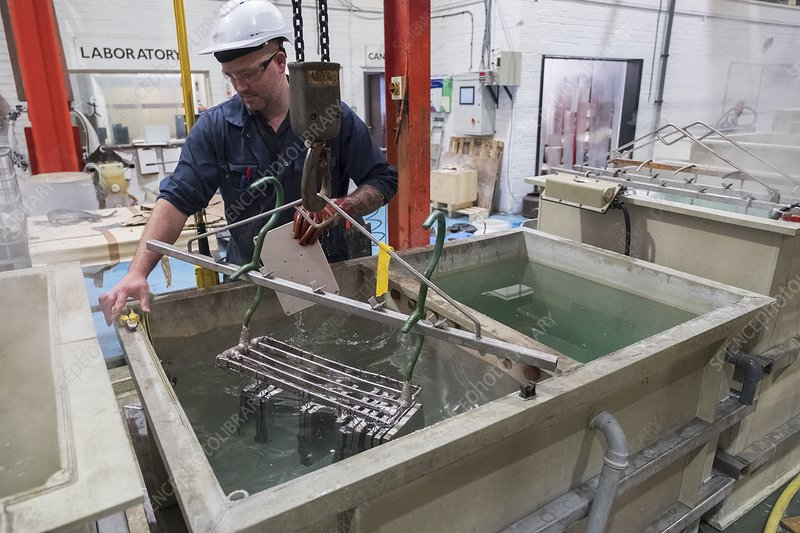 Electroless nickel plating factory