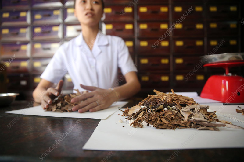 Traditional Chinese medicine pharmacy