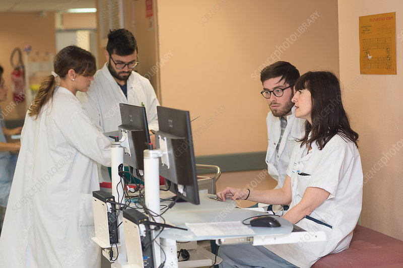 Hepatology service in Nice, France
