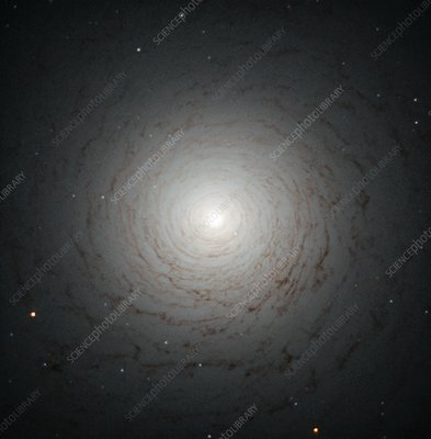 NGC 524 lenticular galaxy, HST image
