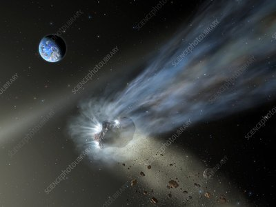 Comet C 2012 K1, illustration