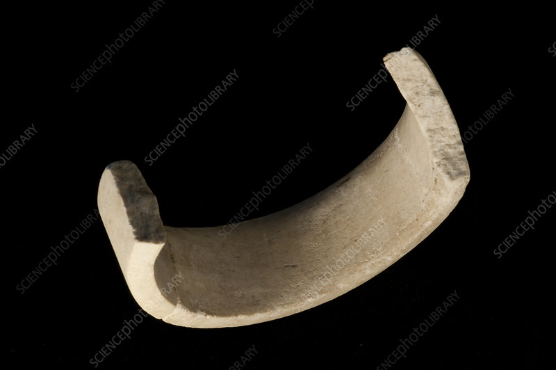 Marble bracelet excavated from La Draga Neolithic site