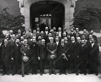 Freud and Jung at Clark University, USA, 1909