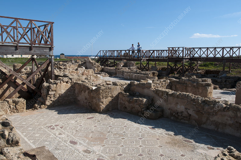 Paphos Archaeological Park, Cyprus