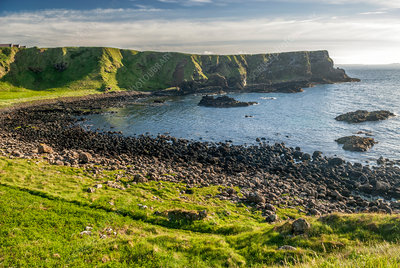 Panoramic Causeway coast, Northern Ireland
