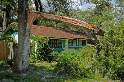 Hurricane Irma residential storm damage, USA