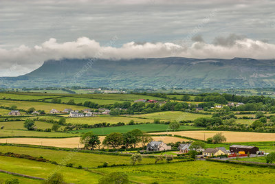 Low Clouds Over Hillside, Sligo, Ireland