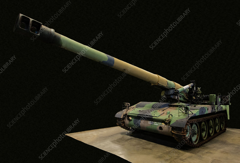 M110A2 8 inch Self Propelled Howitzer, US Army