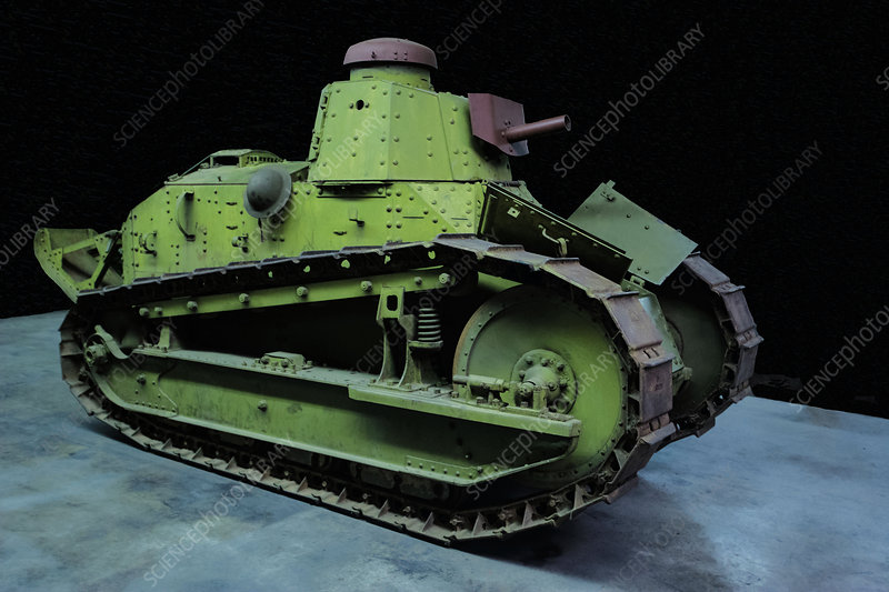 US Army M1917 6 ton Special Light Tank