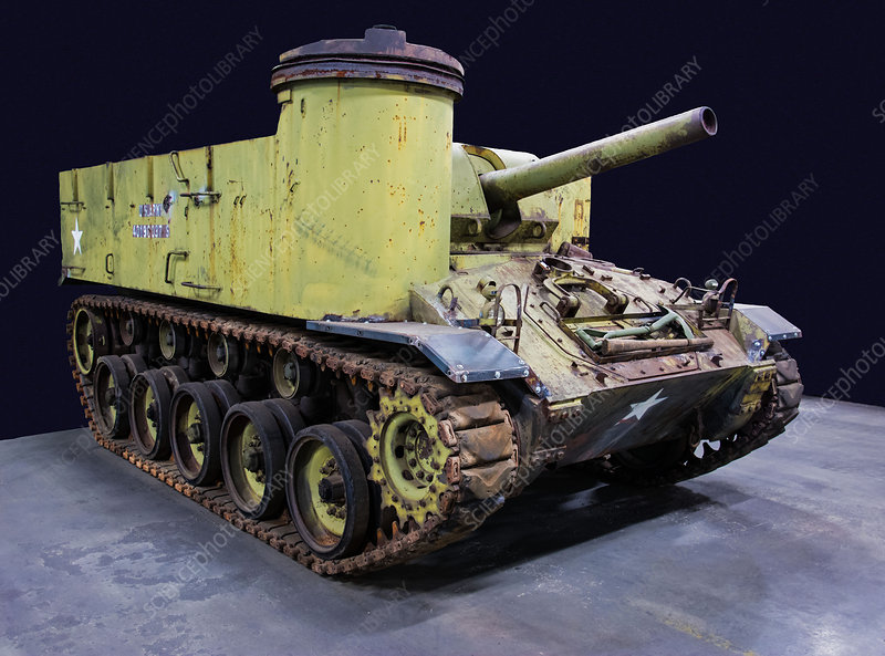 M37 105mm Medium Self Propelled Howitzer US Army