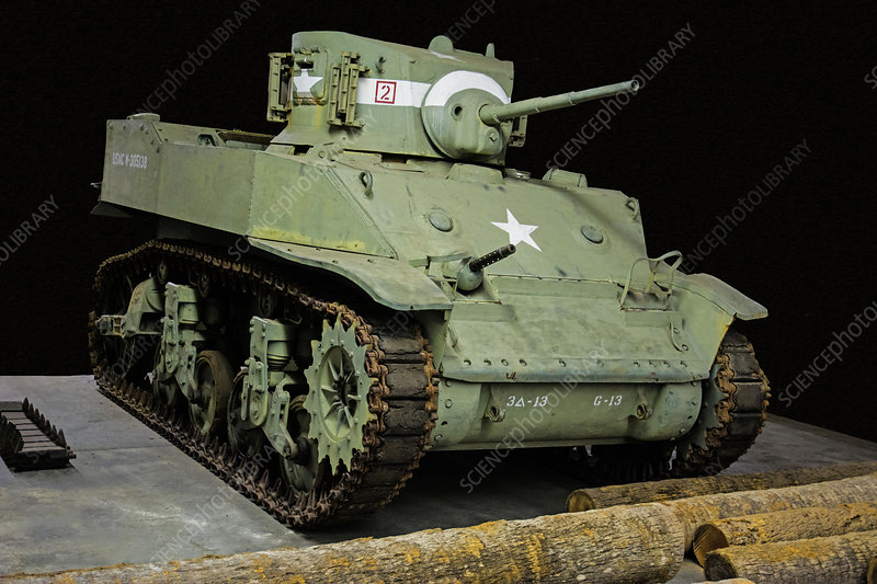 M5 Stuart Light Tank US Marine Corps