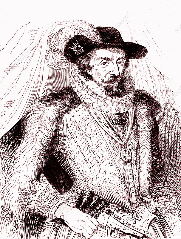 King James I of England