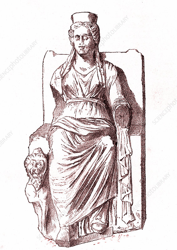 Cybele, mother goddess