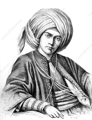 Circassian emir from Syria, 19th century