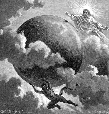 Earth with God and the Devil, 19th century