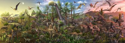 Age of the Dinosaurs, illustration