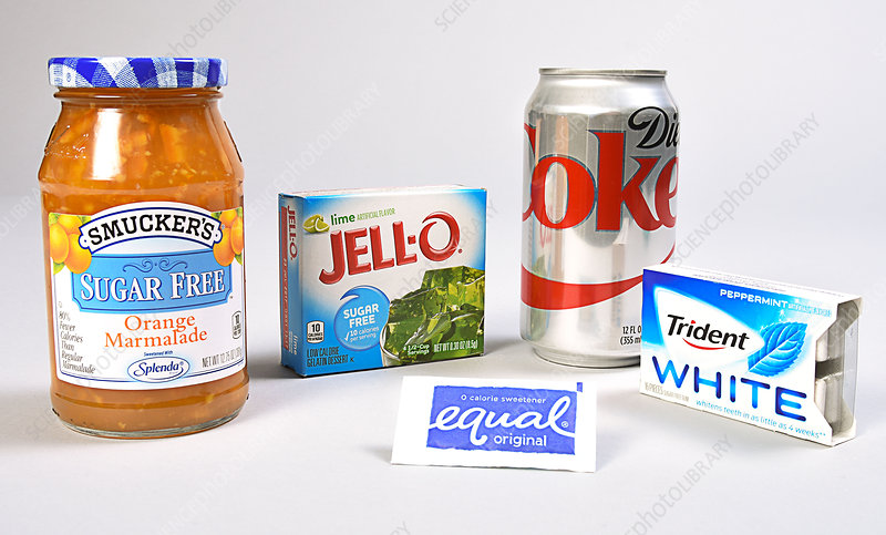 Food Sweetened with Aspartame