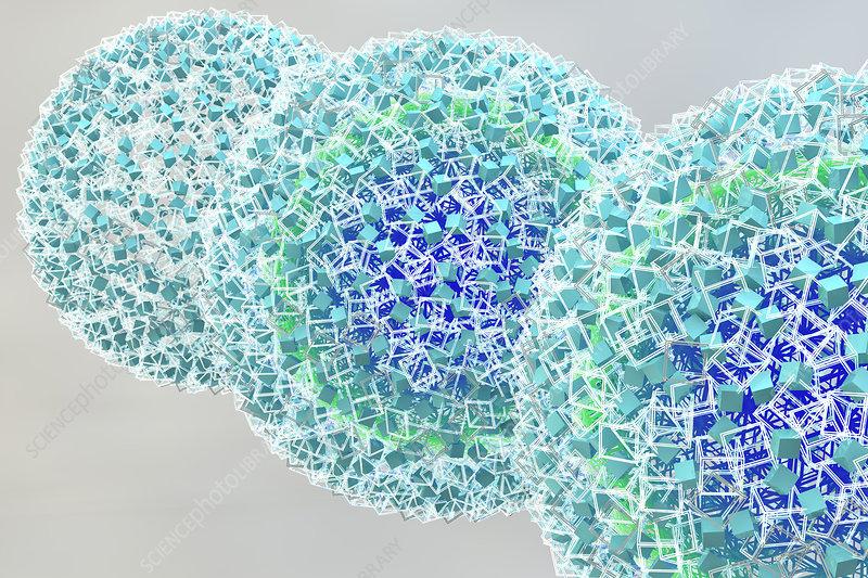 Nanoparticles, Illustration