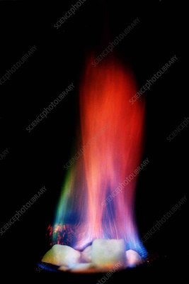 Methane Hydrate Flame