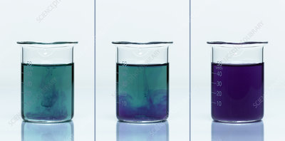 Calcium Oxide Reacts with Water