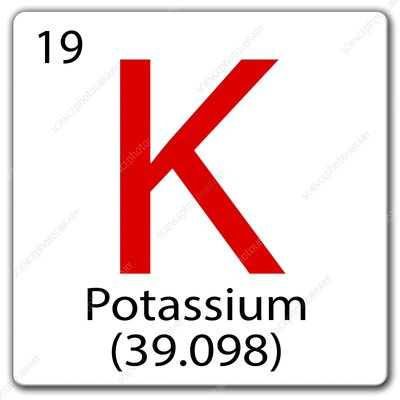 Potassium, illustration