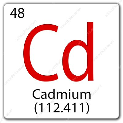 Cadmium, illustration
