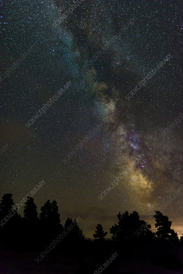 Milky Way Over Oregon