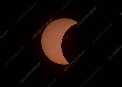 Solar Eclipse, Post-Totality, August 21, 2017