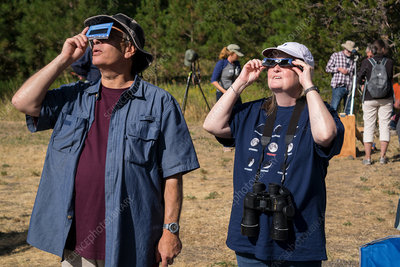 Observers, Total Solar Eclipse, 21 August 2017