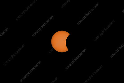 Solar Eclipse Partial Phase, 21 August 2017, 6 of 31