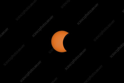 Solar Eclipse Partial Phase, 21 August 2017, 8 of 31
