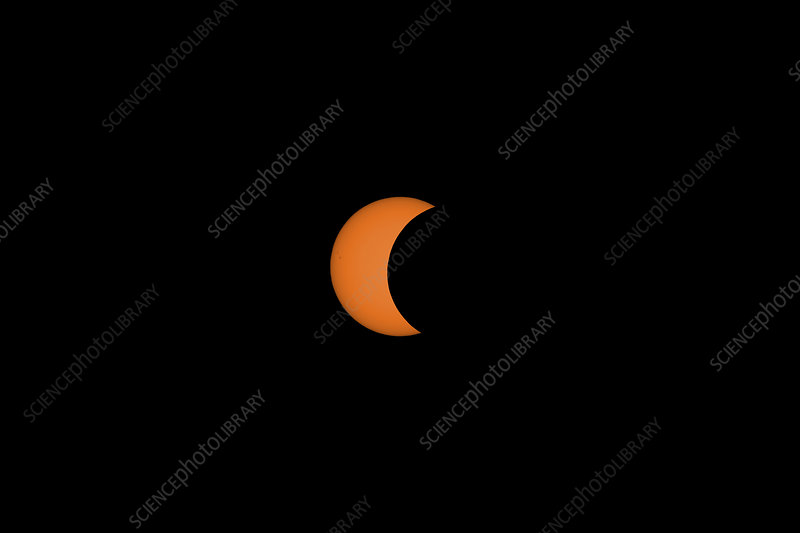 Solar Eclipse Partial Phase, 21 August 2017, 10 of 31