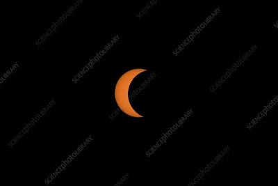 Solar Eclipse Partial Phase, 21 August 2017, 12 of 31