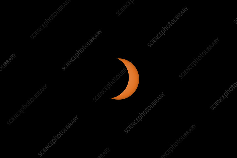 Solar Eclipse Partial Phase, 21 August 2017, 18 of 31