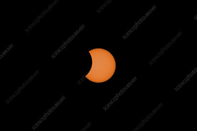 Solar Eclipse Partial Phase, 21 August 2017, 25 of 31