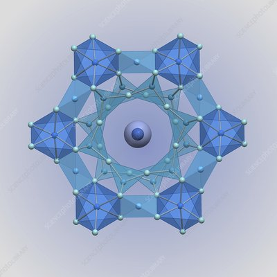 Crystal symmetry of aquamarine