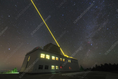 Artificial laser star over Yunnan Astronomical Observatory