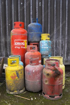 Propane canisters