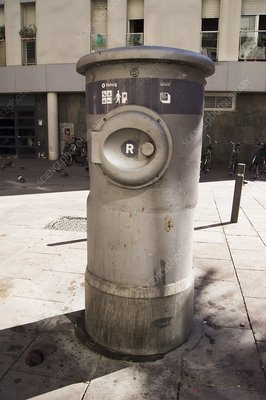 Urban vacuum waste disposal system
