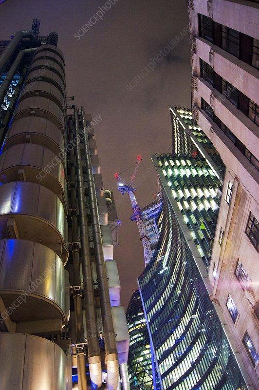 Skyscrapers, London, UK